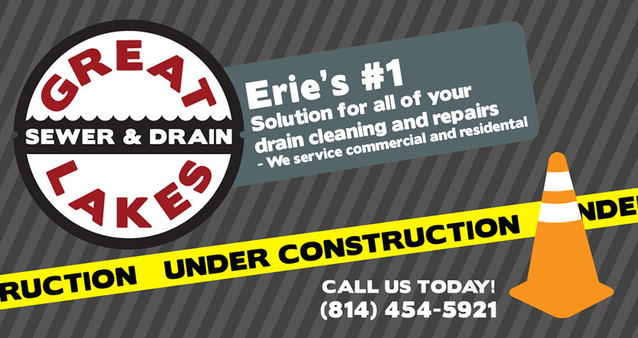 Erie's Premier Sewer and Drain Cleaer - Under Construction